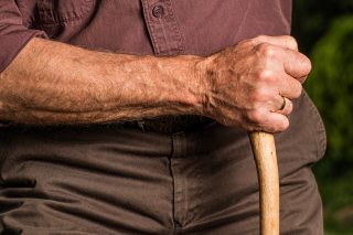 Hand-walking-stick-arm-elderly-40141